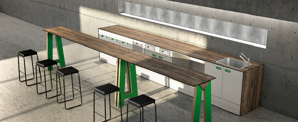 Arredo bar ifi mod bar sharing for Ifi arredamenti bar